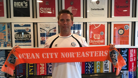 John Thompson new Ocean City Noreasters head coach for 2017