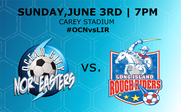 PREVIEW: Nor'easters host Rough Riders at the Beach House in club's 22nd home opener