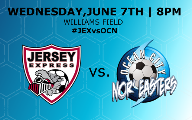Nor'easters wrap up road swing at Jersey Express Wednesday night