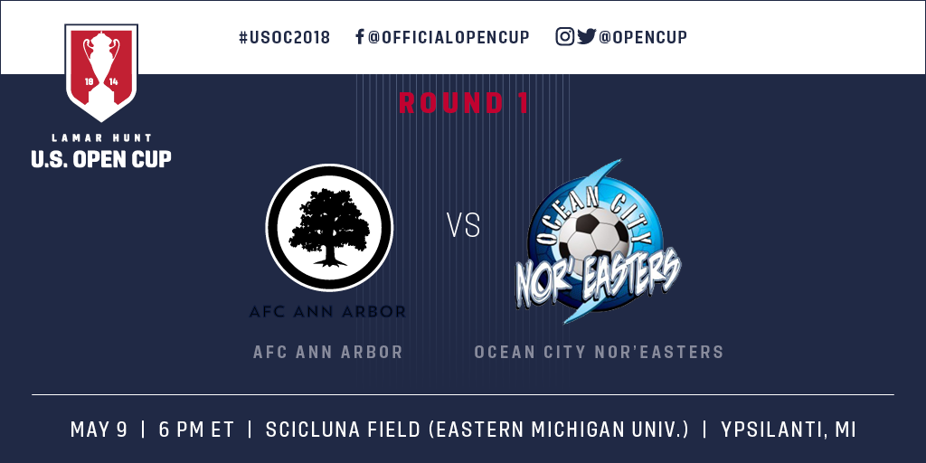 Preview: Ocean City Nor'easters vs. AFC Ann Arbor (Live Video)