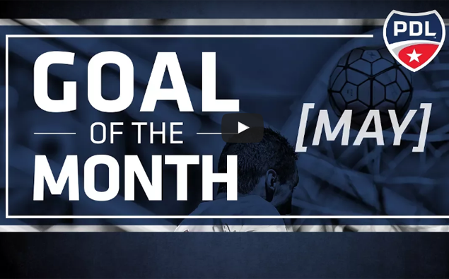 WATCH: Nor'easters midfielder Ignacio Tellechea wins PDL Goal of the Month