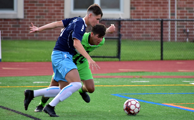 Nor'easters' midfielder Deri Corfe named to USL League Two Team of the Week