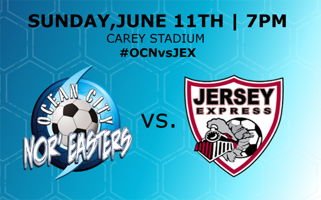Nor'easters return home to Beach House for Sunday night match vs. Jersey Express